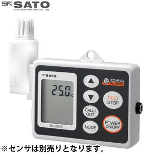 佐藤計量器 データロガー記憶計 (電池・ACアダプタ両電源タイプ) SK-L200T II D 本体のみ (温度タイプ) 8161-10