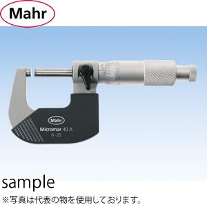 マール社(Mahr) 40A-175 標準外測マイクロメーター 測定範囲:150-175mm [4134006]