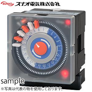 スナオ電気 ST-702P 24時間タイムスイッチ パネル埋込型/1ch型
