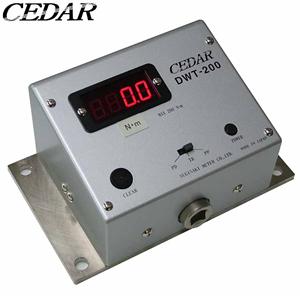 杉崎計器(CEDAR) DWT-200 一体型トルクレンチテスタ [測定範囲:7.0~200.0N・m]