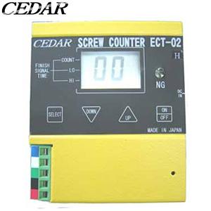 杉崎計器(CEDAR) ECT-02H ネジ締めカウンタ