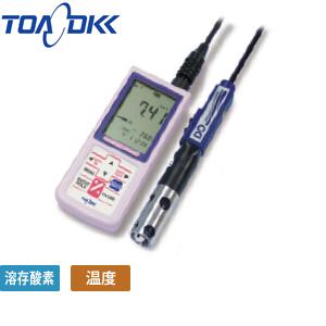 東亜ディーケーケー DO-31P ポータブル溶存酸素一式計 浸漬型DO電極「キャル・メモ」OE-270AA付