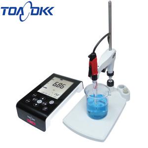 東亜ディーケーケー HM-41X pHメータ センサセット カスタムLCDベーシックタイプ卓上型水質計 pH複合電極 GST-5821C付