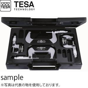TESA(テサ) No.00110113 マイクロメーター イソマスター 4個セット ISOMASTER SET 0-100