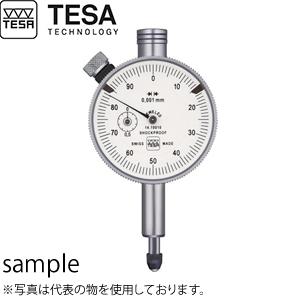 TESA(テサ) No.01410010 精密ダイヤルゲージ φ40mm 時計回 最高品質 標準モデル ダイヤルロック付 DIAL INDICATOR YR TQ 40/0.001