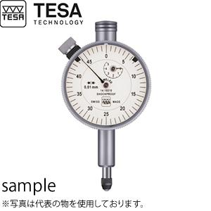 TESA(テサ) No.01410210 精密ダイヤルゲージ φ40mm 時計回 最高品質 標準モデル DIAL INDICATOR YR TQ 40/0.01