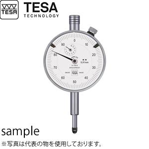 TESA(テサ) No.01410610 精密ダイヤルゲージ φ57mm 時計回 最高品質 標準モデル ダイヤルロック付 DIAL INDICATOR YR TQ 57/0.01
