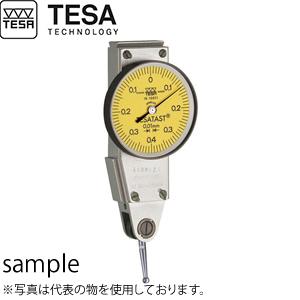 TESA(テサ) No.01810012 てこ式ダイヤルインジケーター φ38mm テサタスト 横形モデル 2mm TESATAST H D38/0,02/0-1-0