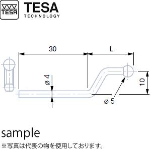 TESA(テサ) No.00760096 万能測定子ホルダー M1.4/2.5タップ孔付き HOLDER FOR PROBE M1.4 AND M2.5