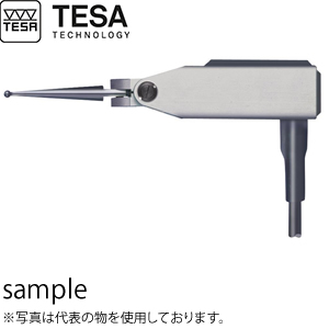 TESA(テサ) No.03210803 電子プローブ てこ式モデル GT31 角度付 LEVER PROBE GT31-F 0.2N