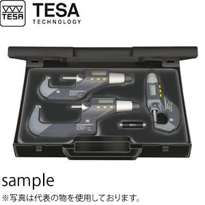 TESA(テサ) No.06030029 デジタルマイクロメーター マイクロマスター 3個セット SET MICROMASTER RS IP54 0-75