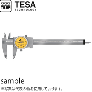 TESA(テサ) No.075115821 ダイヤルノギス エタロン125 DIAL CALIPER, 150mm 1mm/REV.