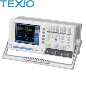 テクシオ(TEXIO) DCS-4605 2chデジタルオシロスコープ (250MS・s/50MHz)