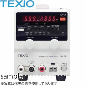 テクシオ(TEXIO) PA36-1.2BVT デジタル表示小型直流安定化電源 (ドロッパ方式)