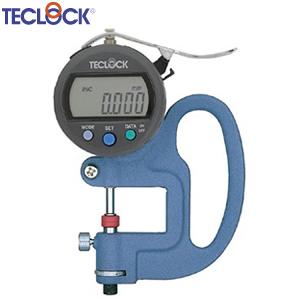 テクロック SMD-565J 標準型デジタルシックネスゲージ 最小表示量0.001mm 測定範囲15mm 指示範囲12mm(アンビル可動式)