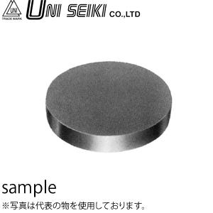 ユニセイキ 丸型精密定盤(ラッピング用定盤) 溝付 150×26mm 精度:3μm [配送制限商品]