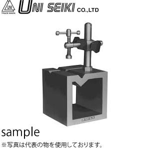 ユニセイキ V溝付桝型ブロック B級 呼び125mm 寸法:125×125×125mm [配送制限商品]