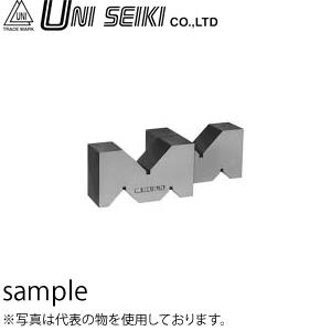 ユニセイキ 鋳鉄製精密ヤゲン台 A型 A級 2個1組 呼び125mm 寸法:125×69×44×63mm [配送制限商品]