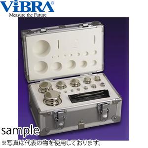 新光電子(VIBRA) M1CSO-2KAJ JISマーク付OIML型円筒分銅セット M1級(2級) 2kgセット(1g~1kg) 非磁性ステンレス製