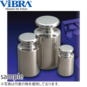 新光電子(VIBRA) F2CSO-200G OIML型円筒分銅 F2級(1級) 200g 非磁性ステンレス製