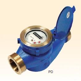 愛知時計電機 乾式水道メーター PD40 :11050