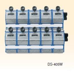 高野計器 DS-405W(5連×2列) 2段式連式数取器