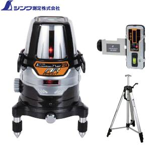 シンワ レーザーロボ Neo 21 AR BRIGHT 受光器・三脚セット No.78219