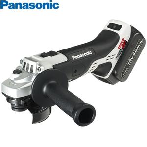 パナソニック 充電ディスクグラインダー100 18V/5.0Ah EZ46A1LJ2G-H(グレー) (電池2個・充電器・ケース付)