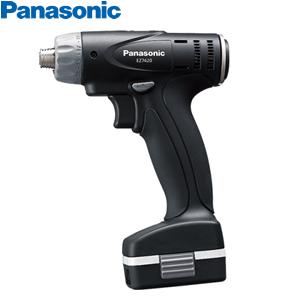 パナソニック SLIMO(スリモ)充電ドリルドライバー 7.2V/1.5Ah EZ7420LA2J-B(黒) (電池2個・充電器) ※ケース別売り