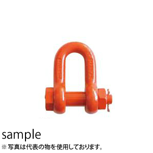 大洋製器 スーパーアロイシャックル ボルト・ナット止めタイプ TS-4 (1010235) 入数:5個 使用荷重:4t