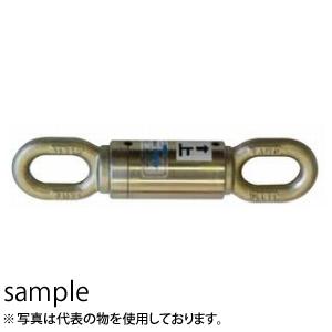 大洋製器 ダブルサルカン(片回転仕様)長アイ型 グリースニップル付 BS-101 (1028061) 使用荷重:1t