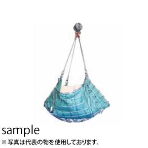 大洋製器 ワイヤモッコ [シート付リング2ヶ付] 2m角 (3010473) サイズ:12×9×150目×2m角