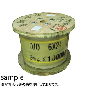 松和 JISワイヤロープ G/O 6×24 8×200m (3232785)