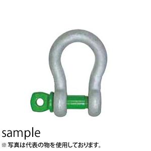 大洋製器 グリーンピン スタンダードシャックル GPB-1.5 (3300306) 入数:10個 使用荷重:1.5t
