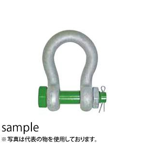 大洋製器 グリーンピン スタンダードシャックル GPBB-3.25 (3300462) 入数:5個 使用荷重:3.25t