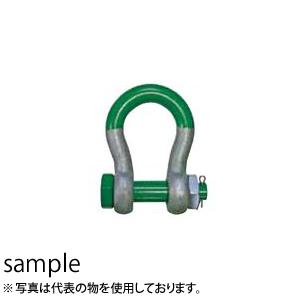 【オンラインショップ】 使用荷重:30t:セミプロDIY店ファースト 大洋製器 グリーンピン スーパーシャックル (3317250) VBS-30-DIY・工具