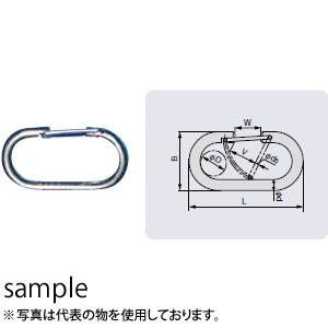 大洋製器 バネ式ネットリンク(ステンレス) (3345563) 入数:10個 呼び:8mm 許容荷重:30kg