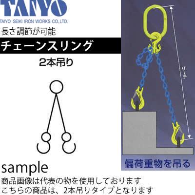 大洋製器 チェーンスリング(2本吊) 1.9t×6mm×1m 品番:1011740