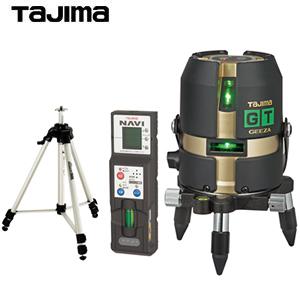 タジマ グリーンレーザー墨出し器 [GEEZA GT4G-Iセット] GT4G-ISET 受光器・三脚付セット