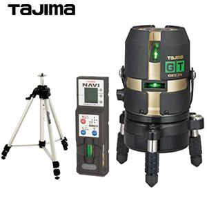 タジマ グリーンレーザー墨出し器 [NAVI GEEZA GT4G-NIセット] GT4G-NISET 受光器・三脚付セット