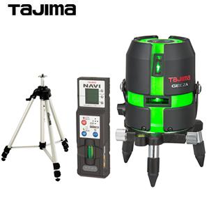 タジマ グリーンレーザー墨出し器 [GEEZA KYセット] GZA-KYSET 受光器・三脚付セット