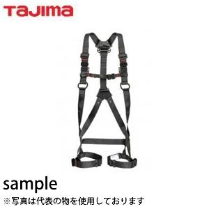 タジマ 墜落制止用器具 フルハーネスZA 黒 L AZAL-BK【在庫有り】【あす楽】