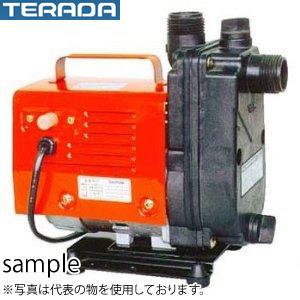 寺田ポンプ製作所 陸上ポンプ HP-50 直動/自吸式 単相100V 50Hz・60Hz共通 小型軽量 樹脂製 口径15mm