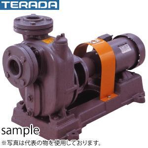 寺田ポンプ製作所 陸上ポンプ O-2M 直結/自吸式 モーター付 三相200V 60Hz 鋳鉄製 口径32mm