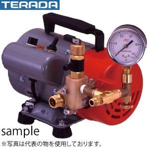寺田ポンプ製作所 テストポンプ PP-201T 単相100V 50Hz/60Hz共用 電動式 水圧テスト用 圧力計付 口径G1/2
