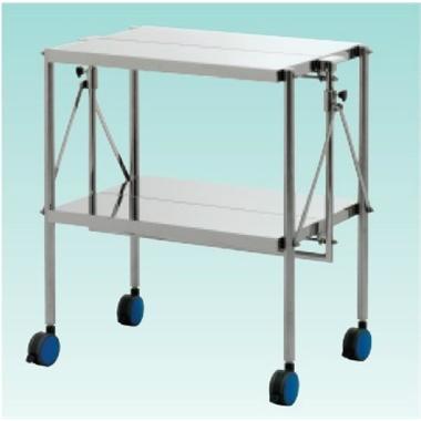 テラオカ ステンレス折畳み式器械台 AN×-W2 :10-1611-02