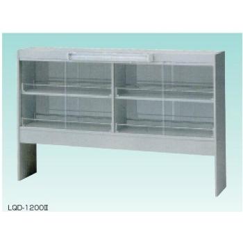 テラオカ 試薬棚 両面型 LQD-1200II :10-1303-19 ※送料別途お見積り