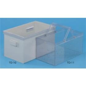 テラオカ 角型硫酸槽 TD-10 :12-7112-15