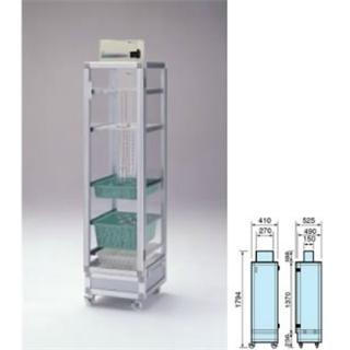テラオカ 乾燥機付き器具保管庫 DGK-220C-A :10-1345-21 ※送料別途お見積り