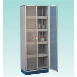 テラオカ 塩ビ製器具保管庫 AKF-1 :10-1342-40 ※送料別途お見積り